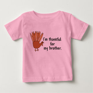 Thankful for My Brother Baby T-Shirt