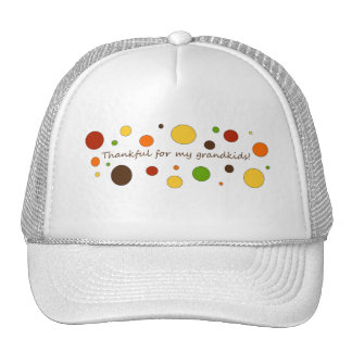 Thankful for my grandkids cap