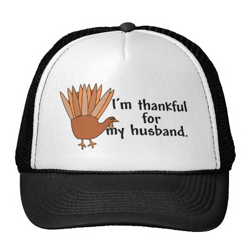 Thankful for My Husband Hat