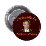 Thankful for President Obama T-shirts, Mugs Pins