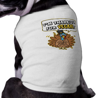 Thankful Turkey Dog/Pet t shirt