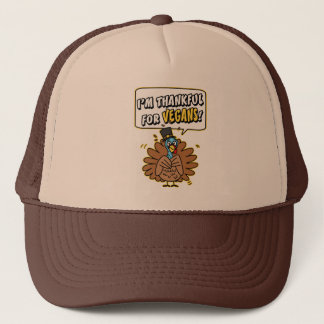 Thankful Turkey Trucker Hat