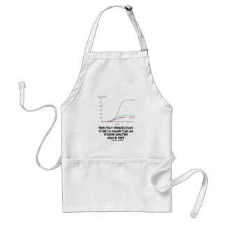 Thankfully Dinosaurs Became Extinct 65 Mil Yrs Ago Standard Apron