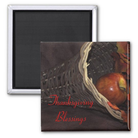 Thankgiving Blessings Magnet