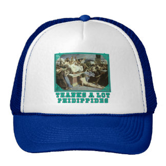 Thanks A Lot Phidippides Funny Marathon Tees Mesh Hats