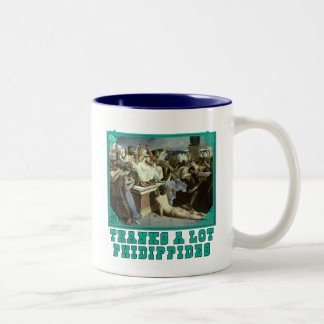 Thanks A Lot Phidippides Funny Marathon Tees Mugs
