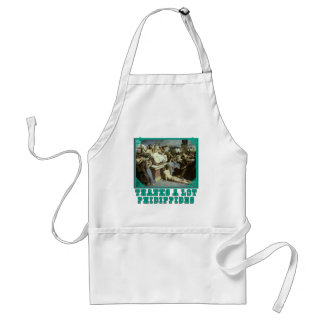 Thanks A Lot Phidippides Funny Marathon Tees Standard Apron