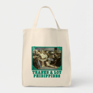 Thanks A Lot Phidippides Funny Marathon Tees Tote Bag