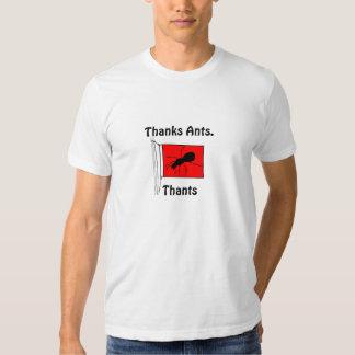Thanks Ants. Thants. Tees