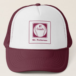 Thanks Coach, Thanks Number 1 Trucker Hat