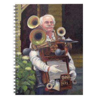 Thanks Focks - Music Man Spiral Notebook