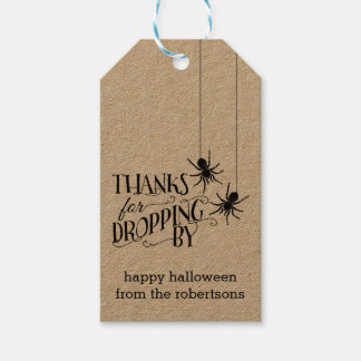 Thanks for Dropping By | Halloween Party Favor Tag