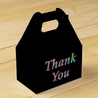 thanks for every occasion favour box