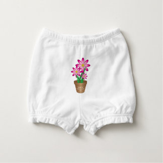 Thanks For Helping Me Grow - Happy Flower Nappy Cover