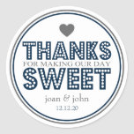 Thanks For Making Our Day Sweet (Navy Blue / Grey)
