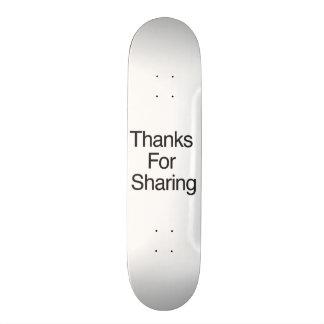 Thanks For Sharing 19.7 Cm Skateboard Deck