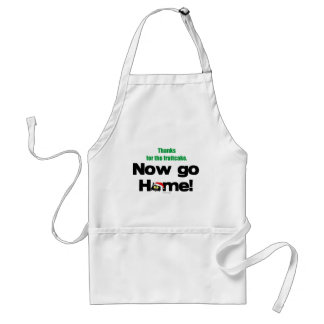 """Thanks for the Fruitcake...Now GO HOME!"" Standard Apron"