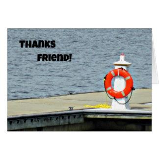 Thanks Friend! Card