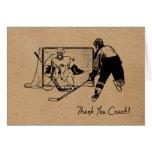 Thanks Hockey Coach! Card