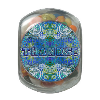 Thanks Jelly Bean Jar Jelly Belly Candy Jar