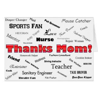 Thanks Mom! Card