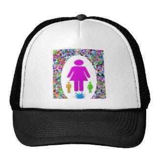 Thanks MOM :  Kudos to Single MOMS Trucker Hat