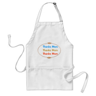 Thanks Mom : Mothers Day Standard Apron