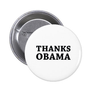 Thanks Obama 6 Cm Round Badge