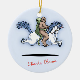 Thanks, Obama! Christmas Ornament