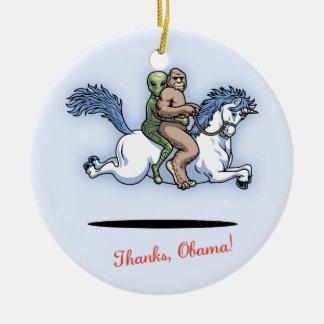Thanks, Obama! Christmas Ornament