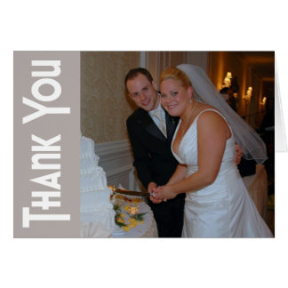 Thanks Retro Thank You Notecard (Sand) Stationery Note Card