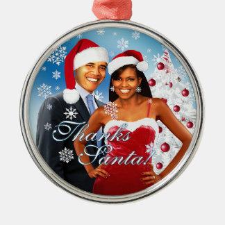 Thanks, Santa Christmas Ornament