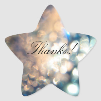 Thanks - Star Stickers