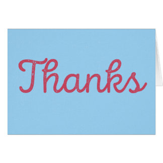 Thanks, that was nice. card | Red/Blue