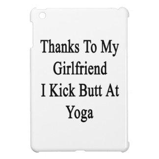 Thanks To My Girlfriend I Kick Butt At Yoga iPad Mini Cover