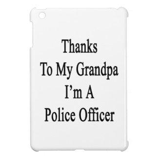 Thanks To My Grandpa I m A Police Officer iPad Mini Case