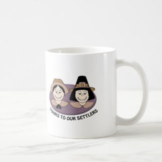 Thanks to our Settlers Coffee Mug