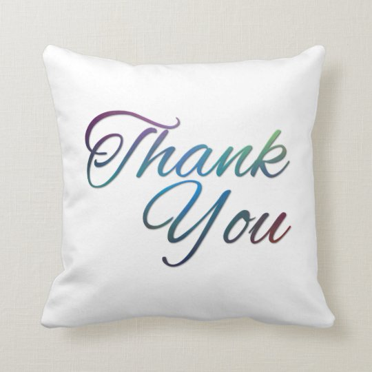 Thanks You Pillows Image