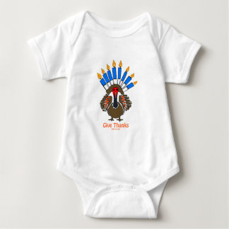 Thanksanukkah Thanksgivukkah  turkey menorah gift T-shirt