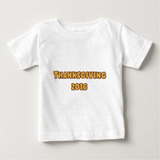 Thanksgiving 2016 baby T-Shirt