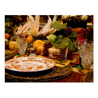 Thanksgiving 2 postcard