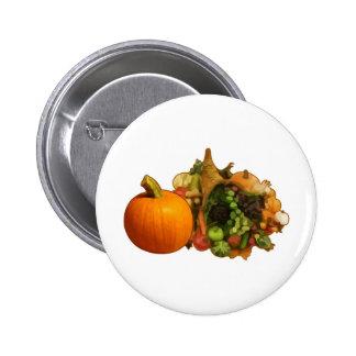 Thanksgiving 6 Cm Round Badge