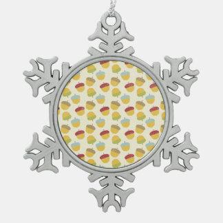 Thanksgiving Acorn Pattern Ornament