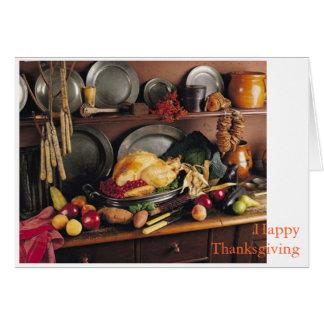 Thanksgiving Appreciation Card