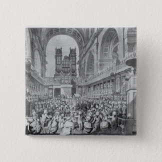 Thanksgiving at St. Paul's for George III's 15 Cm Square Badge