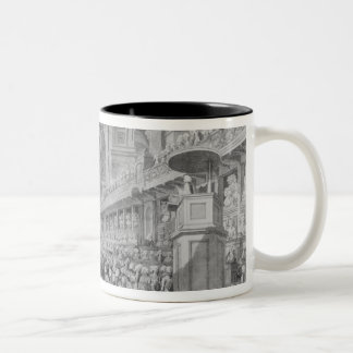 Thanksgiving at St. Paul's for George III's Two-Tone Coffee Mug