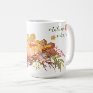 "Thanksgiving - ""Autumn Memories"" - Watercolors1 Coffee Mug"