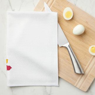 Thanksgiving Autumn Pumkin Kitchen Design Towel
