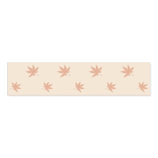 Thanksgiving Autumn Rustic Leaves Napkin Band