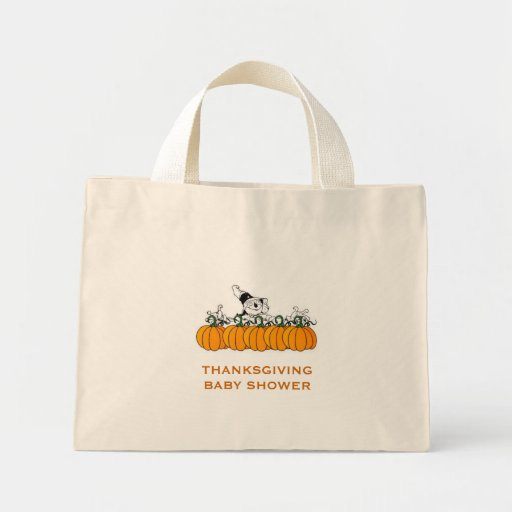 THANKSGIVING BABY SHOWER GIFT IDEAS TOTE BAGS